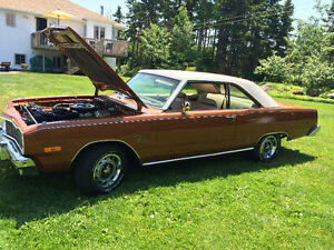 1974 dodge dart swinger original florida car