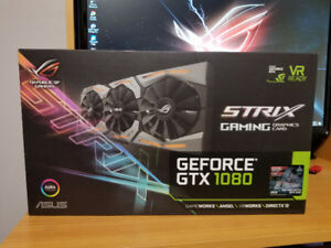 Asus ROG Strix Advanced Gaming GTX 1080 8gb GDDR5X
