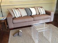 Heal's three seat sofa