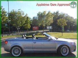 2007 (07) Audi A4 2.0 TDI S Line Convertible Multitronic