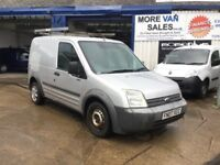 2007 ford transit connect 1.8 tdci 12m mot & new clutch cheap reliable van