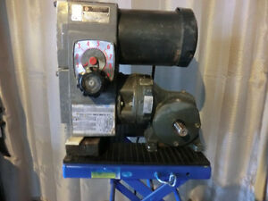 Sander gear box speed reducer