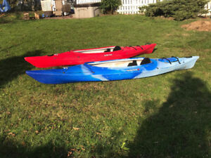 Canoes, kayaks, Paddle Boards used 1 season for Sale!          H
