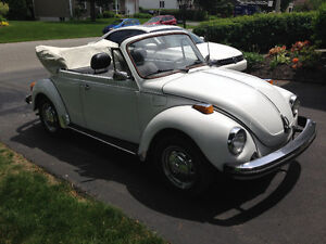 Volkswagen Super Beetle Convertible 1979