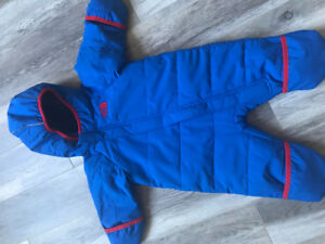 North Face 3-6 months Snowsuit
