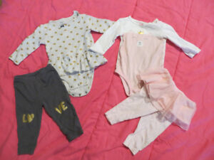 baby girl 9 month clothing lot