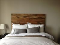 Looking for someone to build a headboard for bed