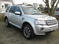 2013/13 Land Rover Freelander 2 SD4 2.2 (190bhp) 4WD Automatic HSE LUX Estate