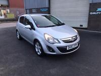 2012 VAUXHALL CORSA 1.2i 16v SXI MANUAL 5 DOOR ,ONLY 33000 MILES WARRANTED..