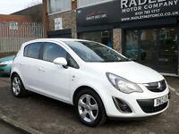 2013 Vauxhall Corsa 1.2i 16v ( 85ps ) a/c SXi 5DR 13 REG Petrol White