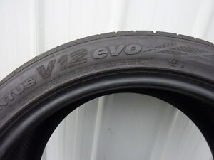 Hankook Ventus V12 evo 255/40zr19 Max Performance Tires