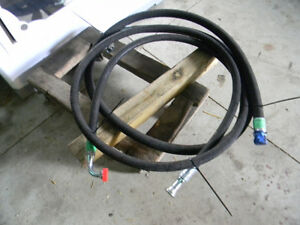assorted hydraulic O ring high pressure hoses (new)