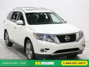 2014 Nissan Pathfinder Platinum AWD MAGS A/C GR ELECT BLUETOOTH