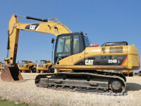 EXCAVATOR MACHINE AND OPERATOR AVAILABLE