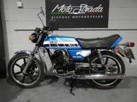 YAMAHA RD 200 DX MT BLUE 1981 W' SOLD