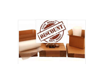 Moving boxes and packing supplies bulk discount!