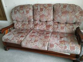 Sofa 3+1+1 piece