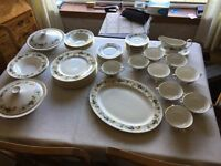 52 piece Royal Doulton Larchmont China Set