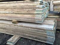 Reclaimed timber boards planks flooring decking scaffold boards