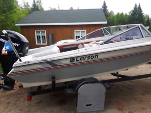 15ft boat with trailer