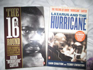 "Rubin ""Hurricane"" Carter Books"
