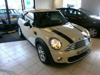 Mini One 1.6 Hatch Back fully loaded top spec only 23k FSH 2012 62 Reg