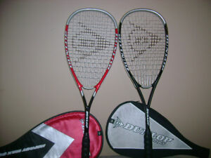 Black Knight and Dunlop squash racquet for sale