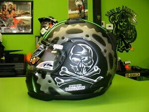 Clearance Sale - Arai - Defiant - Jolly Roger - Small at RE-GEAR