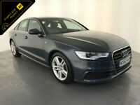 2013 63 AUDI A6 S LINE TDI AUTOMATIC DIESEL 1 OWNER SERVICE HISTORY FINANCE PX