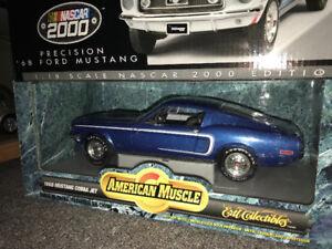 Ford Mustang cobra jet 1968 diecast 1/18 Die cast