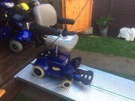 STYLISH COMPACT LIGHTWEIGHT VEHICLE BOOT (( PRIDE JAZZY GO GO 2 )) POWERCHAIR WAS £3800 - JUST £365