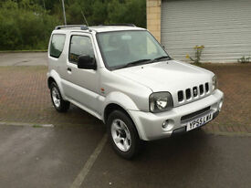55 reg Suzuki Jimny 1.3 JLX 3 Door 4x4 Metallic Silver (face lift model)