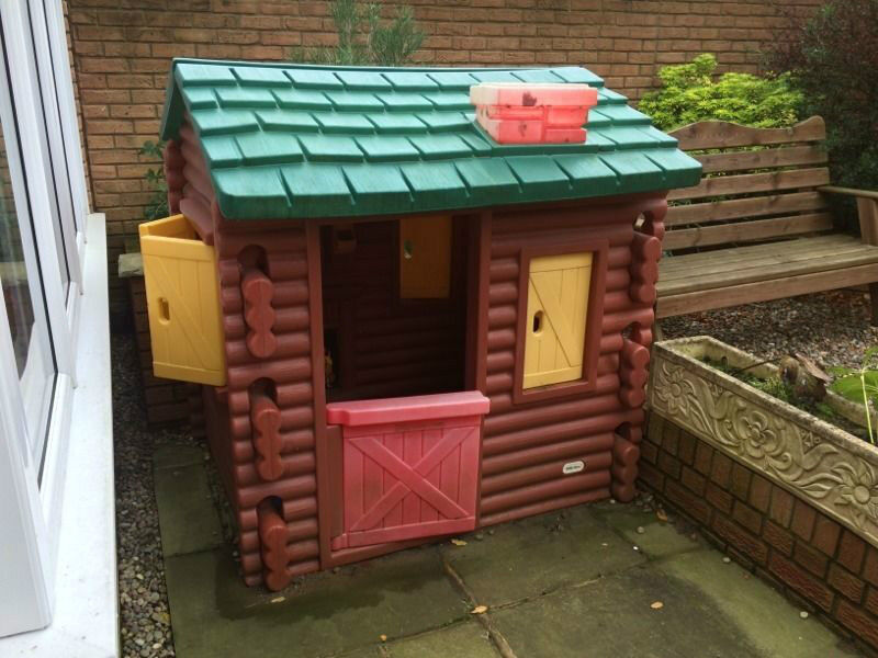Little Tikes Log Cabin Playhouse In Bramley West Yorkshire Gumtree