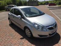 2007 Vauxhall Corsa 1.0 Life 3 Door Silver Grey Metallic
