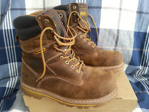 DAKOTA safety boots with steel toe caps