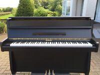 Kawai satin black upright piano |Belfast pianos |