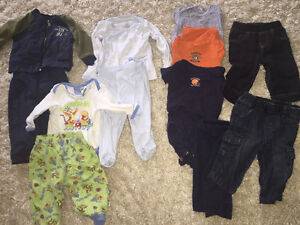 Spring/summer boys clothes 3-6 month lot