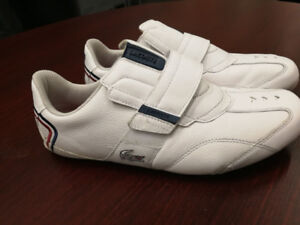 Lacoste Premium White shoes *Barely Worn* Size 8.5 Mens
