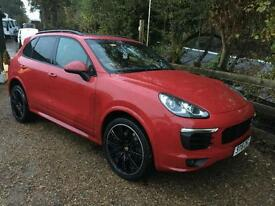 2016 16 Porsche Cayenne D V6 TIPTRONIC S WITH SPORTS DESIGN PACK CARMINE RED