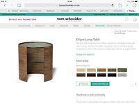Handmade Tom Schneider Lamp/ telephone table
