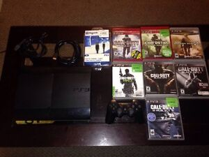 PS3 SUPERSLIM 250GB W/ COD COLLECTION