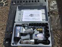 """Sealey 1/2"""" air impact gun and air ratchet and sockets"""