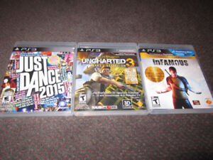 Summer Assortment of PS3 Games - NEW, store-opened $15 -$18