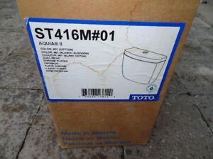 Toilet Tank - Toto ST416M#01 Aquia II Dual Flush Tank, 3.4/6 lpf