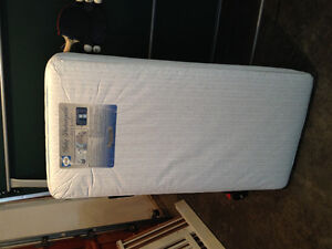 Two Waterproof Mattresses for Crib or Toddler Bed