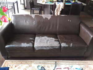 Free Couch and 2 Club Chairs