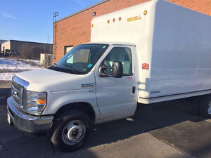 2015 Ford F-350 Box truck clean and well maintained