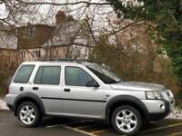 2004 [04] LAND ROVER FREELANDER 1.8 HSE 5DR MANUAL SILVER EVERY EXTRA