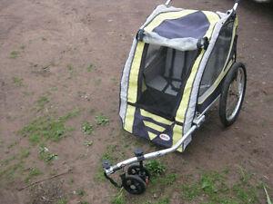 Bell Double bike trailer/jogging stroller
