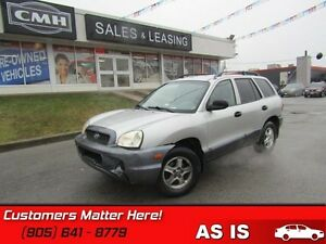 2003 Hyundai Santa Fe GL   AS TRADED *UNCERTIFIED*